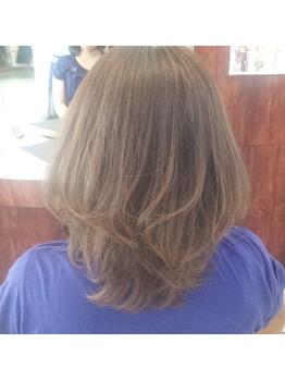 髪に優しいヘアカラー 浜松の美容室CAZUYO