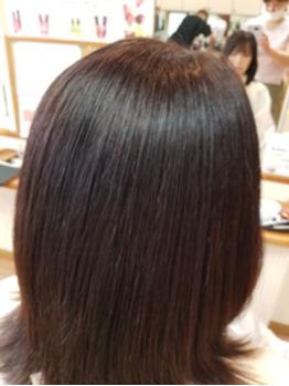 浜松の縮毛矯正 クセストパー