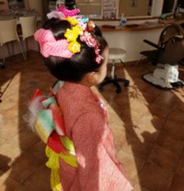 七五三ヘアセット 浜松市 美容室CAZUYO