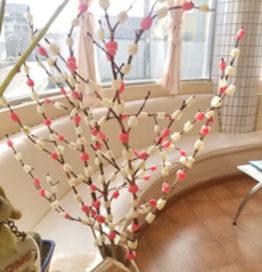 飛騨のお正月飾りの花もち