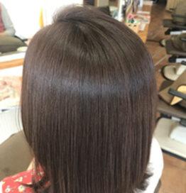 ピンクラベンダーのヘアカラー 美容室CAZUYO